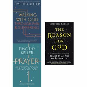 Details about Timothy Keller Collection Walking with God through Pain  Prayer 3 Books Set NEW