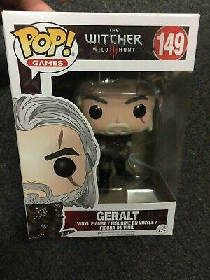 The Witcher Geralt Vinyl Figure Funko Games #149 POP