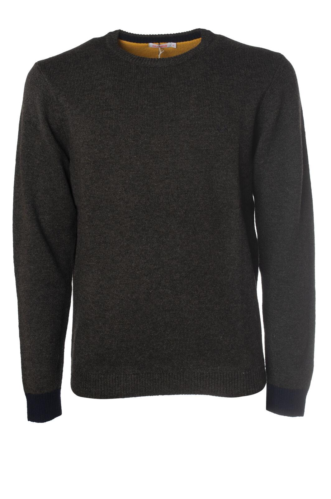 Sun 68 - Knitwear-Sweaters - Man - Grau - 5662909L181007