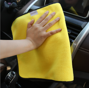 Car-Cleaning-Towel-Washing-Cloth-Rag-Dry-Microfiber-Ultra-Absorbent-Soft