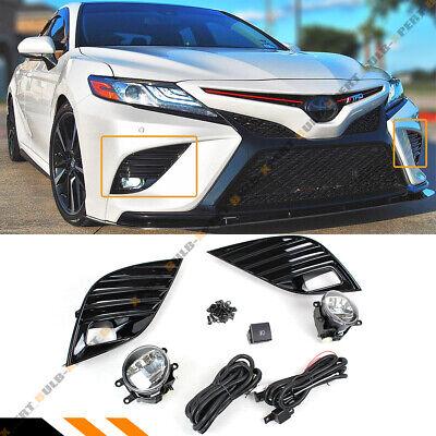 For 2018 19 Toyota Camry Se Xse Fog Lamp Light Bezel Cover