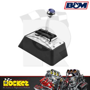 B&M Quicksilver Ratchet Shifter Fits Ford GM 3 & 4 Speed Transmission - BM80683