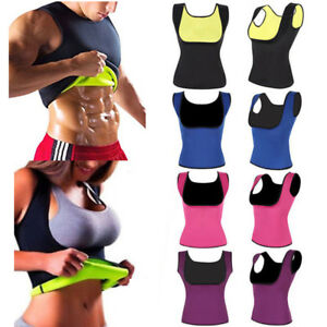 933c439f67e Unisex Sauna Suit Sweat Body Shaper Slimming Shapewear Waist Trainer ...
