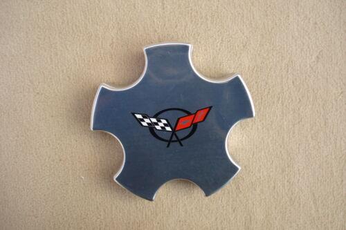 1 Achsabdeckung für Alufelgen poliert Corvette C5 chrom deckel Original GM