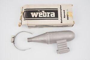 Webra Pot D'Échappement 1100/5E-G Vintage Modélisme