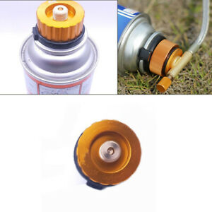 Outdoor Camping Stove Connector Gas Bottle Adaptor Aluminum Alloy 28*42mm