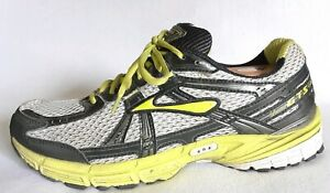 c84ded58440 Brooks Adrenaline (GTS 11) Black   Green Mens Size 10.5 Running ...