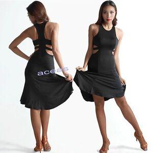 New Ballroom Adult Latin Rumba Samba Cha Cha Paso Doble Practice Dress Dancewear