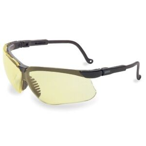 Image is loading Honeywell-S3202X-Uvex-Genesis-Safety-Glasses-Black-Frame- 6930dae803