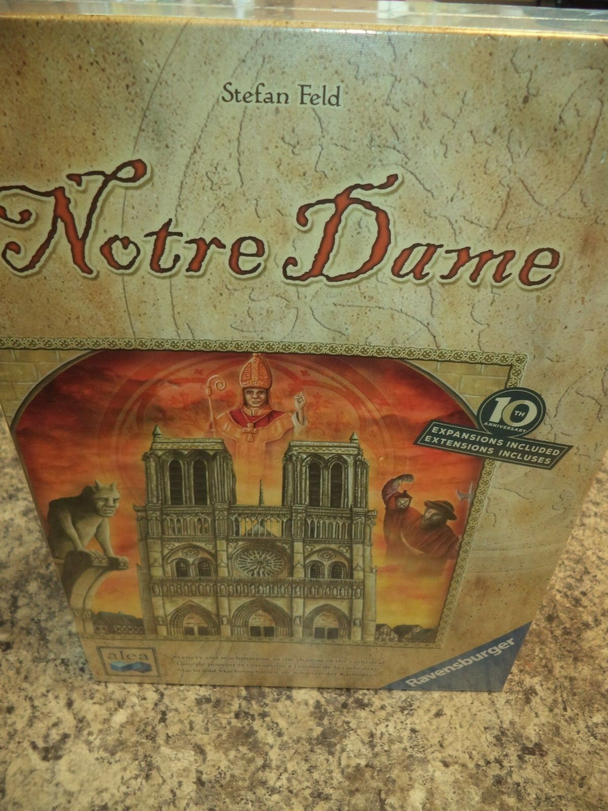 Notre Dame - Ravensburger Games Board Game New