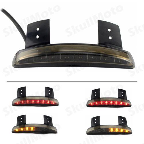Smoke Fender Edge LED Tail Light Turn Signals For Harley Sportster XL883 1200 US