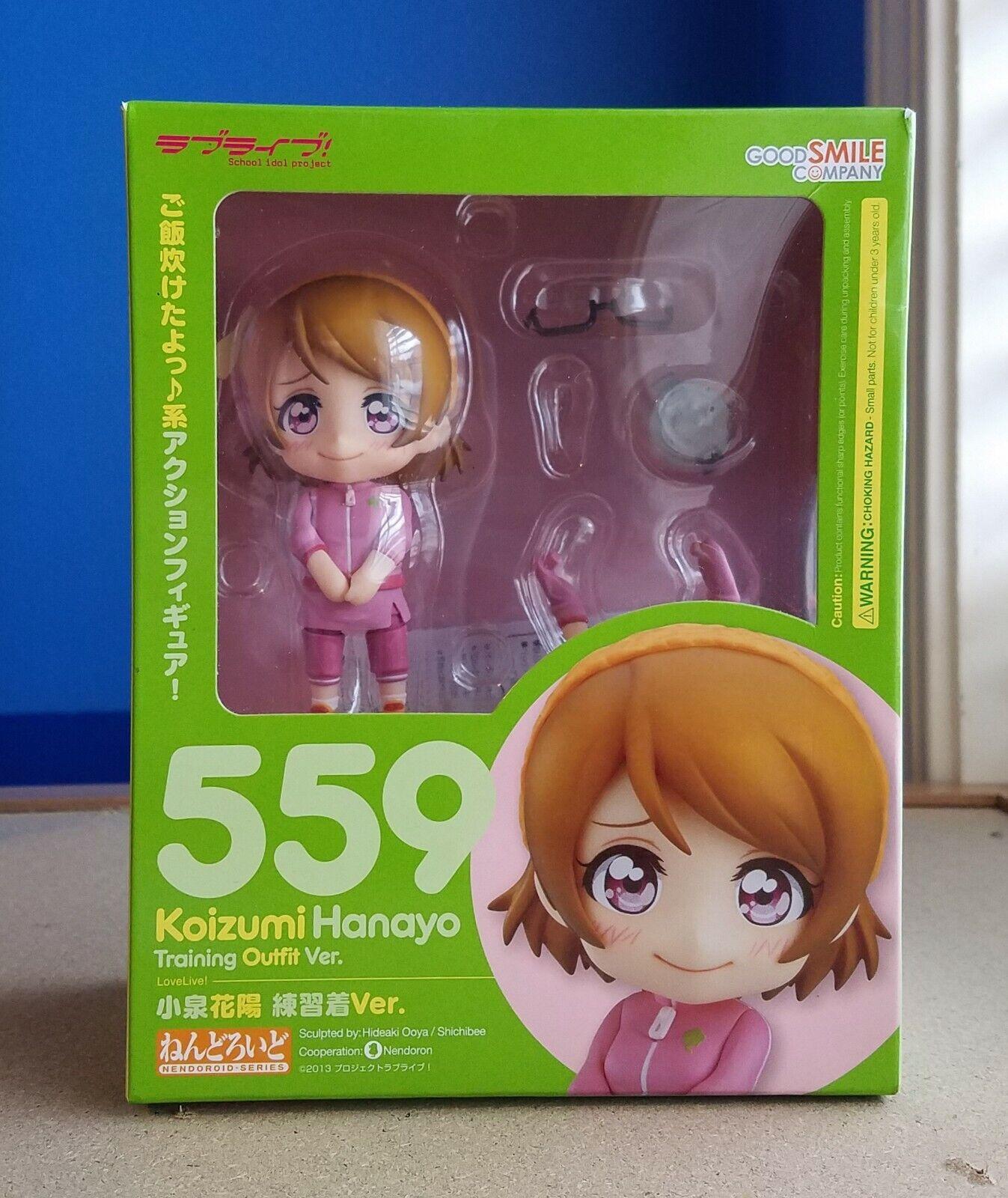 USED Nendoroid Love Live Koizumi Hanayo Training Outfit ver Figure Good Smile