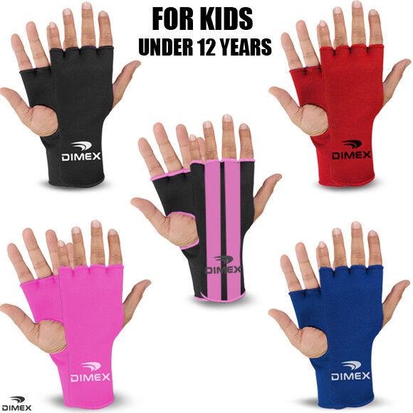 Kids/Junior Boxing Fist Hand Inner Gloves Bandages MMA Muay Thai Punch Wraps