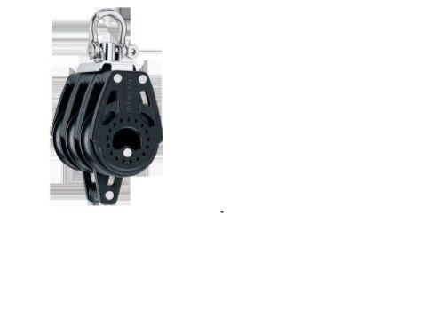 HARKEN 40mm Carbo Block 3fach mit Wirbel und Hundsfott