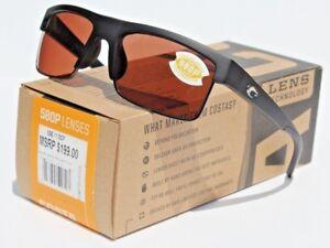 COSTA DEL MAR South Sea POLARIZED Sunglasses Matte Black//Gunmetal//Copper 580P