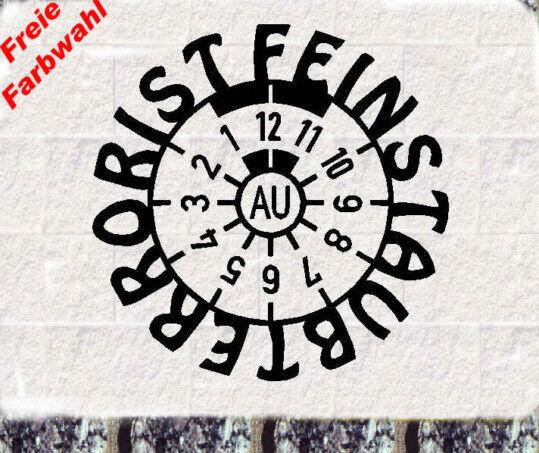 Feinstaub Terrorist  Aufkleber Diesel  co2 Fun Scherz Shocker Leider Geil 9x9cm