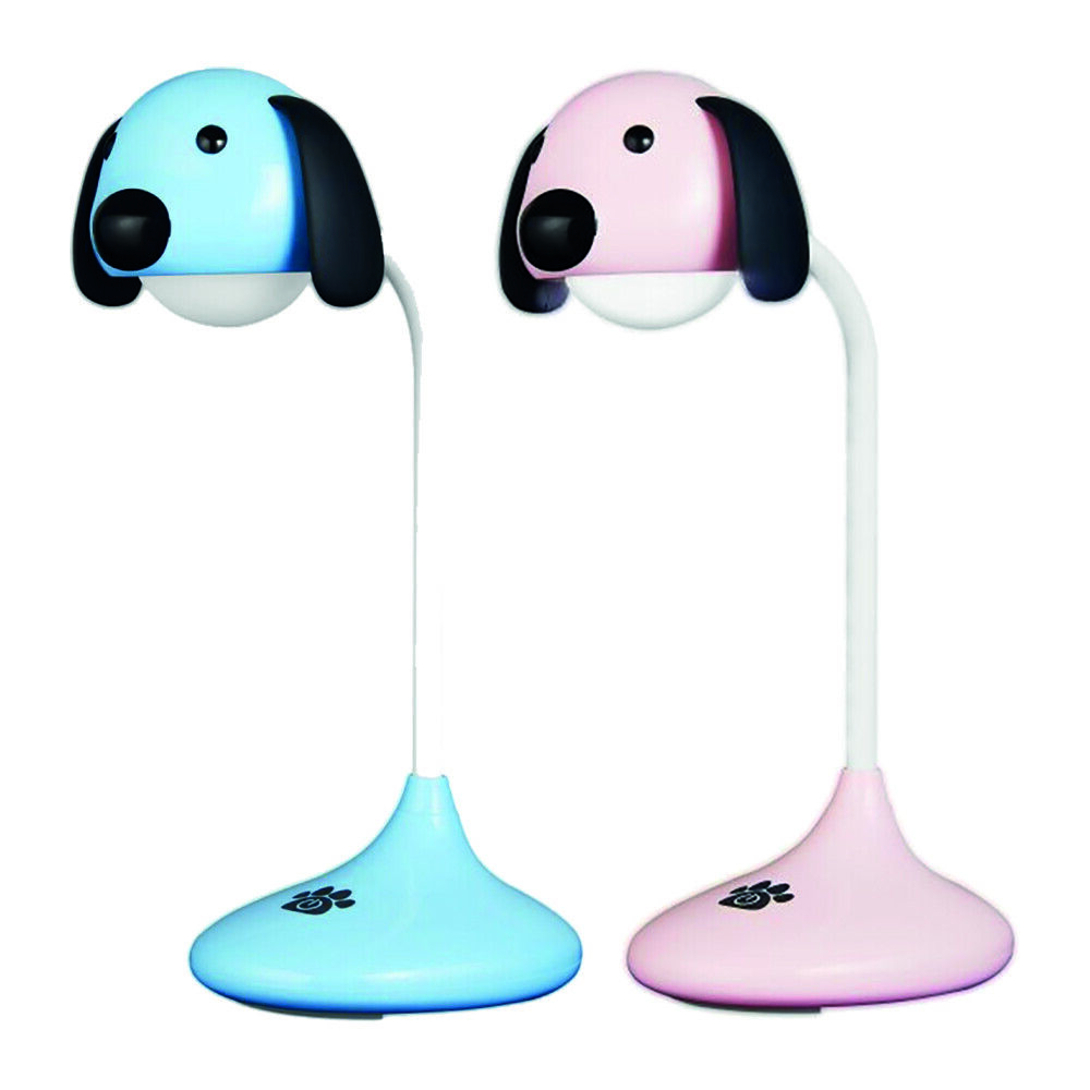 Volkano Lumo Battery Operated Rechargeable Dog Shaped Desk Lamp Light | Ebay