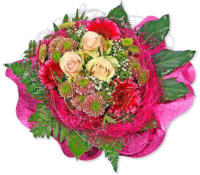 """Blumenversand Blumenstrauß """"pretty In Pink"""" Heller Glanz Garten & Terrasse Pflanzen, Sämereien & Zwiebeln"""