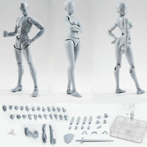 Man Woman Drawing Figures for Artists Action Figure Model Human Mannequin Kit US