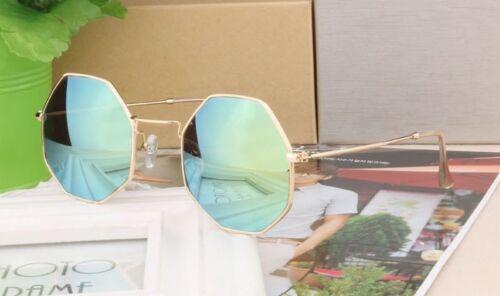 Donna Esagono Occhio Occhiali da Sole Retrò Classico Design Vintage Retro
