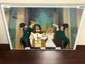 Swan-Princess-Hand-Painted-Production-Animation-Cel-certified-authentic