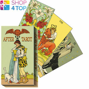 AFTER-TAROT-DECK-KARTEN-ESOTERIC-FORTUNE-TELLING-LO-SCARABEO-NEU