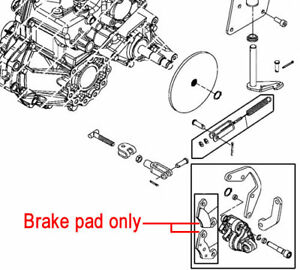 john deere gator engine diagram wiring schematic genuine john deere park brake pad vga12183 4x2 hpx 4x4 hpx ... john deere gator 6x4 diagram parking brake