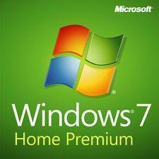 ORIGINAL WINDOWS 7 HOME PREMIUM 32 / 64BIT  GENUINE LICENSE KEY SCRAP PC