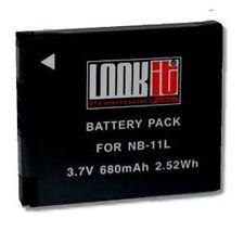 LOOKit LCD Lader + 1x LOOKit NB11L NB11LH  für Canon IXUS 175, IXUS 180