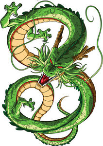 image is loading sticker poster manga dragon ball z dragon shenron - Dbz