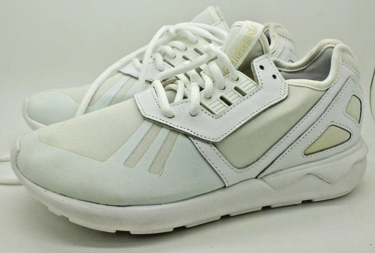 Adidas Original Tubular Runner Mujer Triple blancoo Zapatos Tenis Para Correr 8 Nuevo