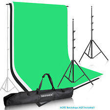 Neewer Photo Video Backdrop Background Heavy Duty Support Stand w/Case f Muslin