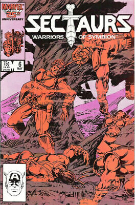 Sectaurs #6 May 1986 Marvel Comic Book NM