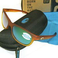 Costa Del Mar Prop Polarized Sunglasses-sunset Fade/green Mirror 400g Glass Lens