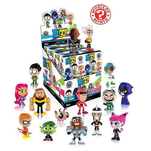 Teen Titans Go  - Mystery Minis WM US Exclusive Blind Box - Set of 12 NEW Funko