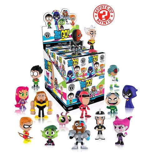 Mystery Minis WM US Exclusive Blind Box Set of 12 NEW Funko Teen Titans Go!