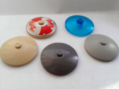 VARIOUS LEGO SHIELDS//DISHES