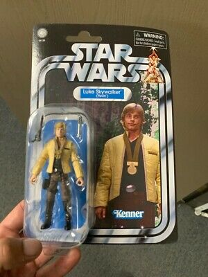 Star Wars The Vintage Collection Luke Skywalker Yavin VC151 neuf sur carte