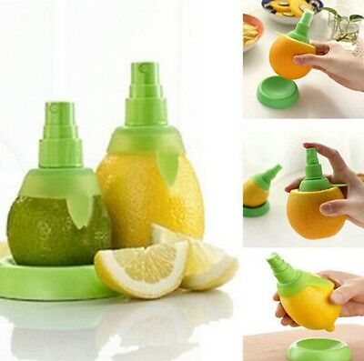 FD1007 1 Pair Citrus Spritzer Fruit Lemon Lime Mist Sprinkling Extractor Juicer