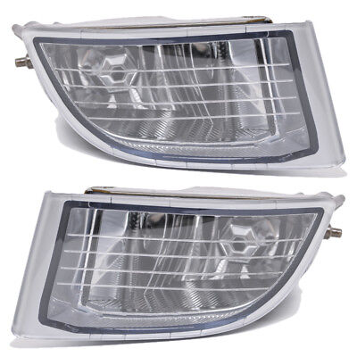 Pair Front Fog Driving Light Lamp for TOYOTA Land Cruiser PRADO FJ90 2001-2002