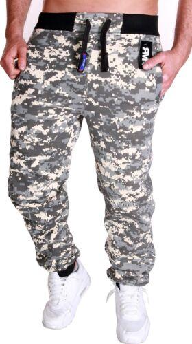 Herren Camouflage Hose Jogginghose Sporthose Fitness Sport Jogging Damen Pixel