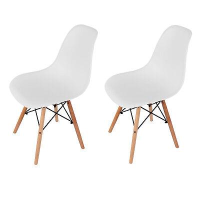 Vintage Eiffel Dining Office Chair Lounge Designer Chair Retro DSW Plastic UK