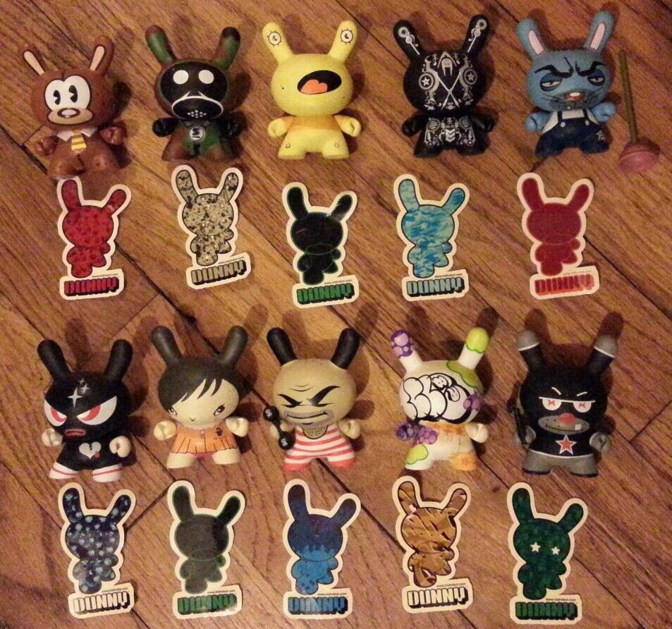 Kidrobot Dunny Series 2 set set   lot of 10