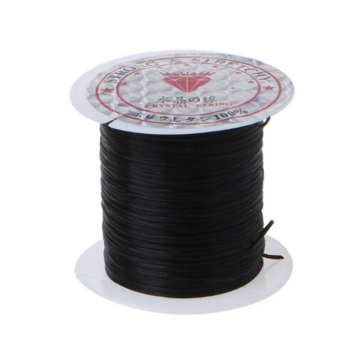 1 Roll Elastic Beading Thread Stretch Polyester String Cord for Jewelry Making C
