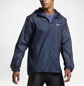 ed24ba658334 Nike Shield Flash Reflective Men s Running Jacket (L) 800895 410
