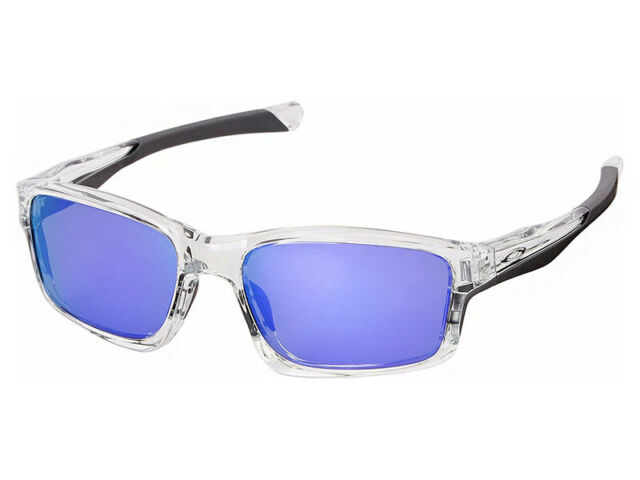 53055344b0 Oakley Chainlink Sunglasses OO9252-05 Polished Clear Violet Iridium Asian