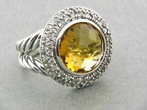 DAVID-YURMAN-CERISE-RING-WITH-CITRINE-AND-DIAMONDS-SIZE-5-5