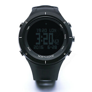 NORTH EDGE Sport Digital Smart Watch Waterproof Altimeter Thermometer Pedometer