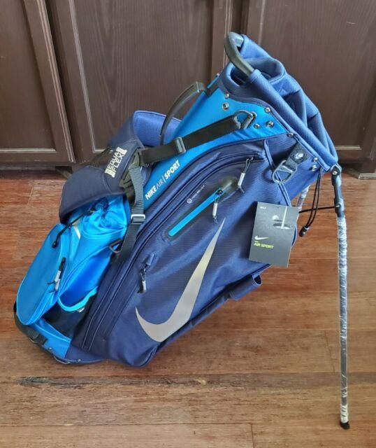 Corchete Meyella puñetazo  Nike Golf Sport Cart Bag Granite/orange/smoke for sale online   eBay