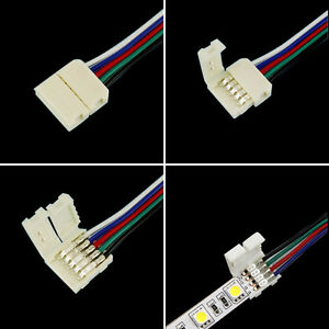 4pin5pin rgbrgbw connectors with cable for 5050 rgbrgbw led image is loading 4pin 5pin rgb rgbw connectors with cable for aloadofball Image collections